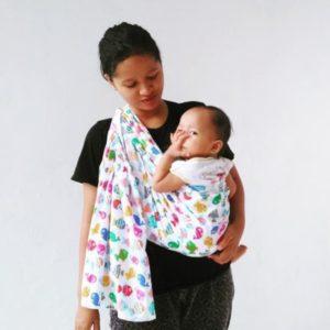 Gendongan Bayi Kain Gendongan Bayi/ Cukin