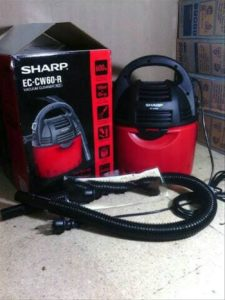 Sharp EC-CW60 Vacuum Cleaner Basah & Kering - 600 W