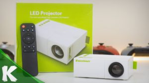 Proyektor Mini Vakind Mini Portable Projector YG 310