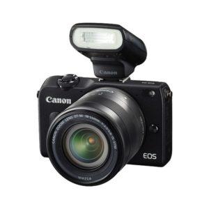 Kamera Mirrorless Canon EOS m2 Kit 18-55mm + 90EX
