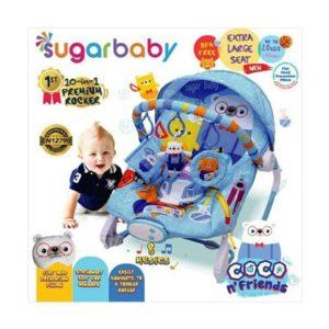 Baby bouncer Sugar Baby 10 in 1 Premium Rocker Bouncer