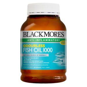 Minyak Ikan Blackmores Odourless Fish Oil 1000