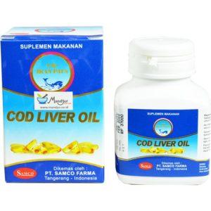 Minyak Ikan Cod Liver Oil Cap Ikan Paus