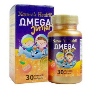 Minyak Ikan Nature's Health Omega Junior