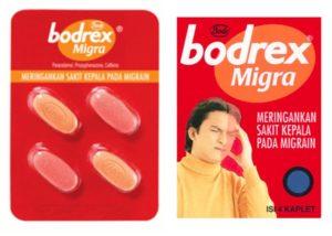 Obat Sakit Kepala Bode bodrex migra