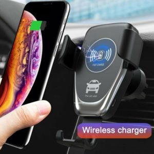 Rotating Card Holder Wireless Charger