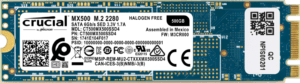 Crucial MX500 500 GB 3D NAND M.2 Type 2280 Internal SSD