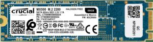 Crucial MX500 500 GB 3D NAND M.2 Type 2280 Internal SSD
