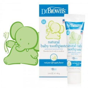 Dr. Brown - Natural Baby Toothpaste
