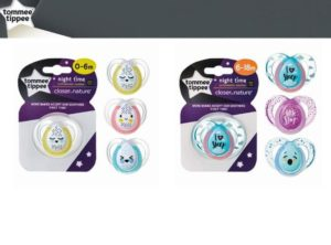 Empeng bayi Tommee Tippee Night Time Soother