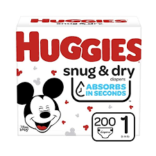 Huggies Snug and Dry Size 1