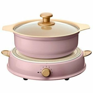IRIS OHYAMA Ricopa IH Cooking Heater&Pot Set IHLP-R14