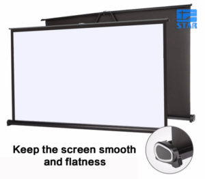 "Layar proyektor Screen Projector Portable 40"""