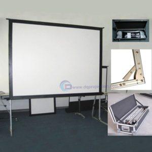 Layar proyektor Super Big Motorized Screen 300