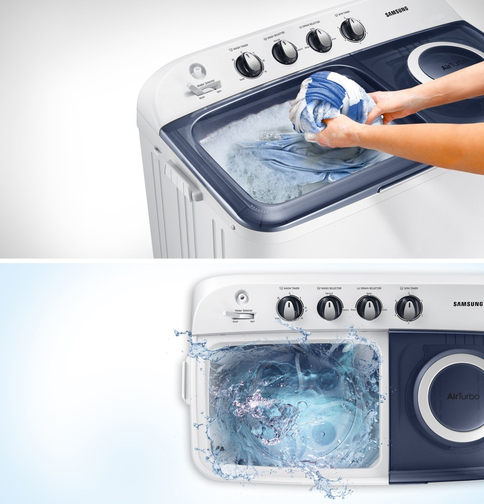 Mesin Cuci 2 Tabung Terbaik di Indonesia
