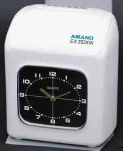 Mesin absensi Amano