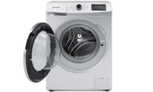 Mesin cuci Sharp Front Loading Series ES-FL1083W