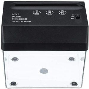 Mini paper shredder and Letter Opener