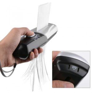 Portable Handy Office paper shredder Handheld USB Battery Powered