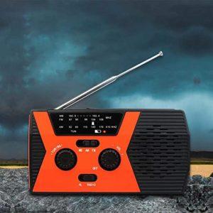 Radio Portable Emergency AM FM WB Waterproof