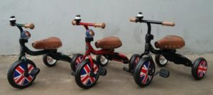 Sepeda Roda Tiga London Taxi