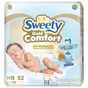 Sweety Comfort Gold New Born