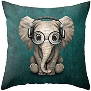 Applenana Baby Pillow Set Yellow Elephant