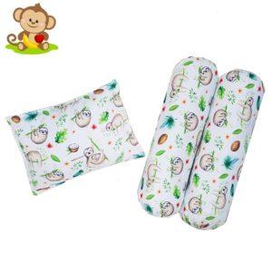 Applenana Premium Baby Pillow Set Baby Sloth