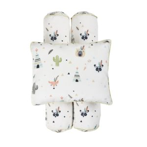 Cottonseeds Pillow Bolster Little Indian Set
