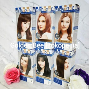 Mandom Miratone Conditioning Cream Color