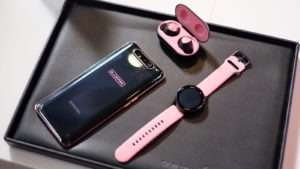 Samsung Galaxy A80 Buds Blackpink Edition