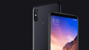 Smarthone Xiaomi Mi Max Series