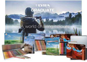 F.I.L.A Lyra Graduate Aquarell