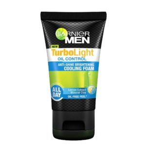 Garnier Turbolight Oil Control Anti-Shine Brightening Cooling Foam