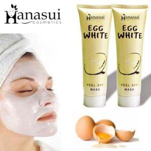 Hanasui Egg White Peel Off Mask