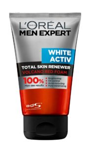 L'Oreal Paris Men Expert White Activ Volcano Red Foam