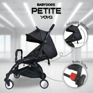 Babydoes Petite Yoya Stroller Cabin Size