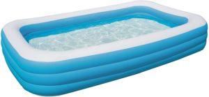 Bestway Deluxe Blue Rectangular Family Pool 3 meter