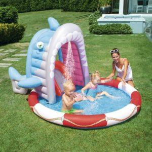 Bestway Pancuran Outdoor Pool Activity Kolam Mandi Main Anak