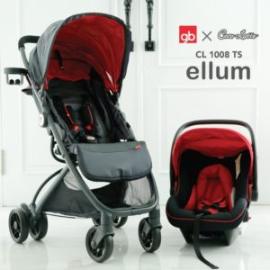 Cocolatte Stroller CL 1008 Ellum Travel System include Carrier