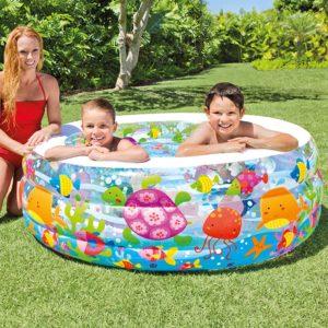 Intex Kolam Renang Aquarium Pool 58480