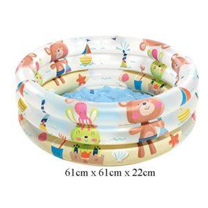 Intex Kolam Renang Bear 3 Ring Baby Pool 57106