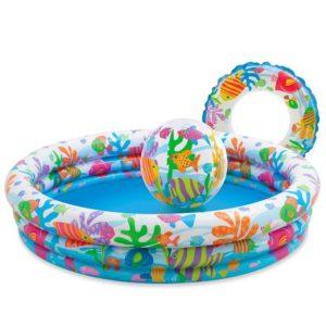 Kolam Renang Intex Baby Aquarium Fish Bowl Pool 3 in 1 59469