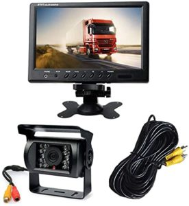 Car Reverse Camera with 18 LED + Night Vision