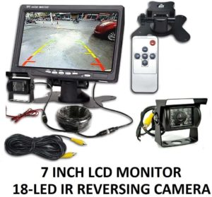 Car Reversing Camera Infrared with Monitor