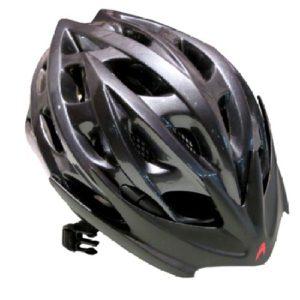 Helm Sepeda Aerogo Bicycle Helmet Gloss Titanium