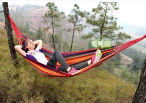 Hammock Colorful Kasur Gantung Camping Single Series