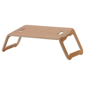 Ikea BRÄDA Alas Laptop, Lapisan Bambu