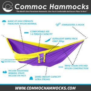Triple XXXL Hammock Original Product By Commoc Hammocks
